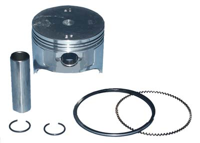.25 mm OS Piston/ring assembly 1996-03 350cc also MCI - 2 req per engine  /part #  ENG-219, 5651 or 72541-G01